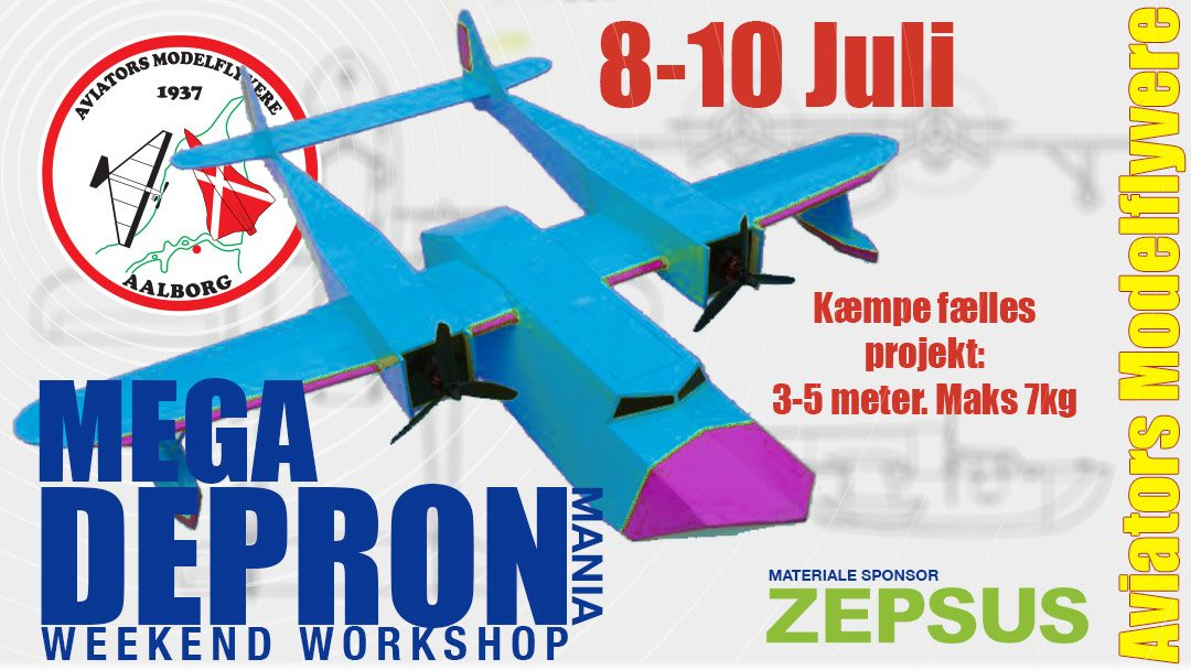 MEGA Depron workshop weekend