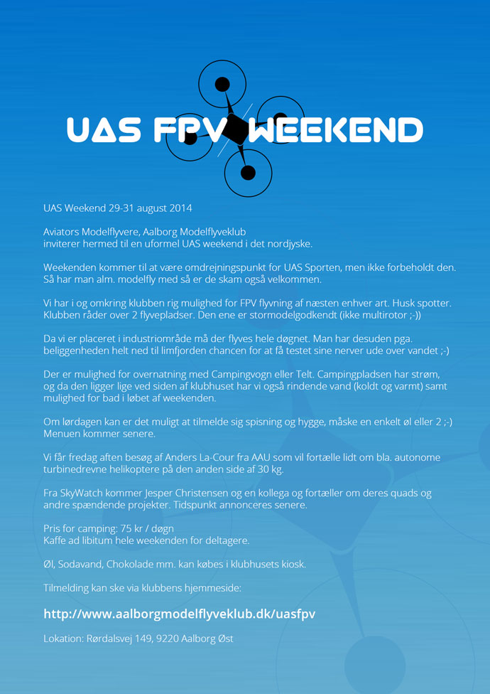 UAS/FPV Weekend 2014